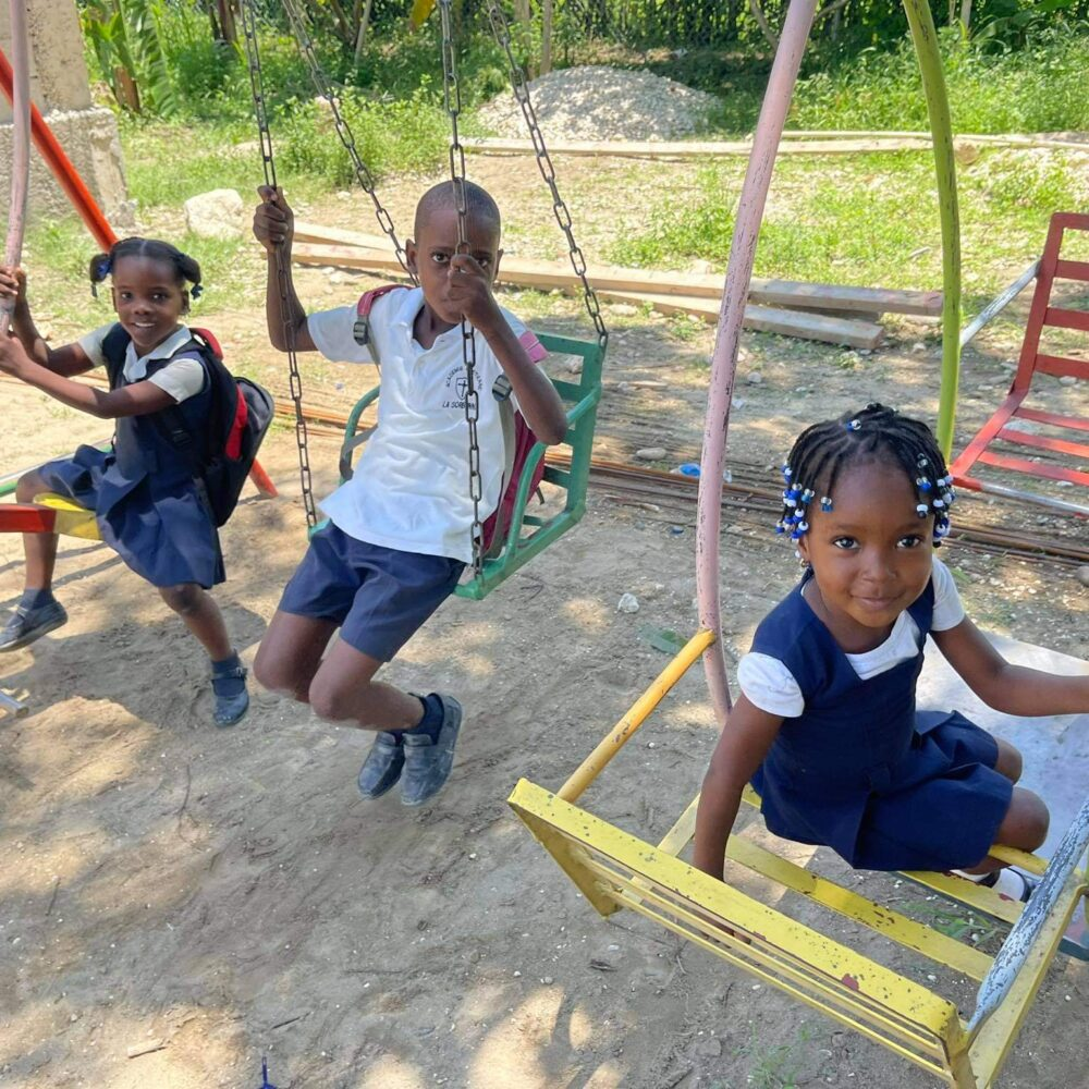 operation outpour haiti, education missions in haiti, support students in haiti