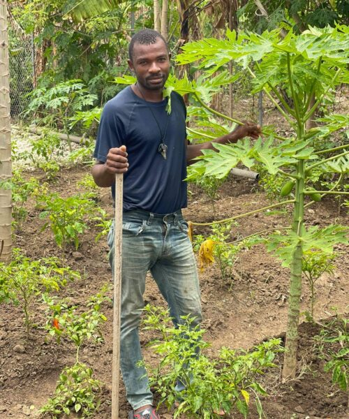agriculture educator, haitian education, operation outpour
